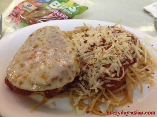 Chicken Parmesan Kids Meal Landscape of Flavors