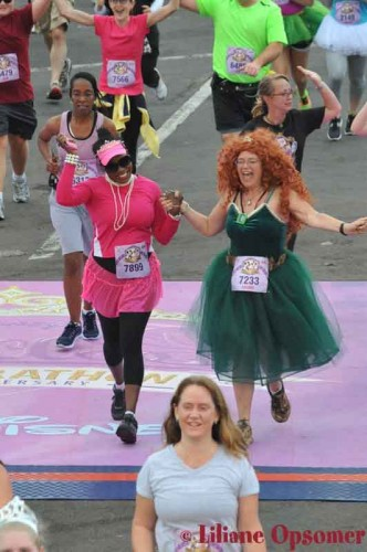 Tink-Half-Liliane-My first race 5K Princess Feb 2013