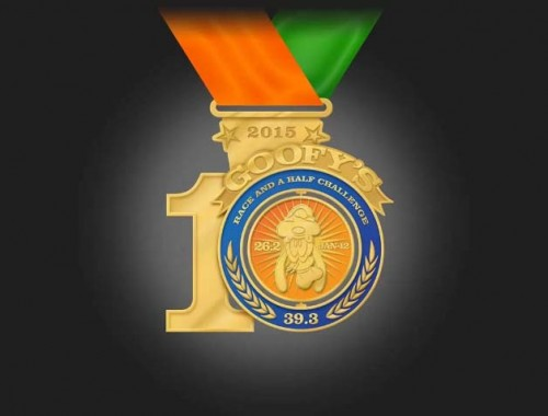 2015-Goofy-Race-and-a-Half-Challenge-Medal-10th-Anniversary-Back