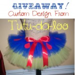 Giveaway: Custom Design From Tutu-da-loo!!