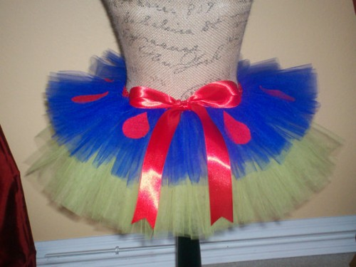 Tutudaloo Snow White inspired tutu