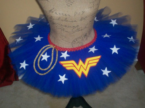 Tutudaloo Wonder Woman inspired tutu