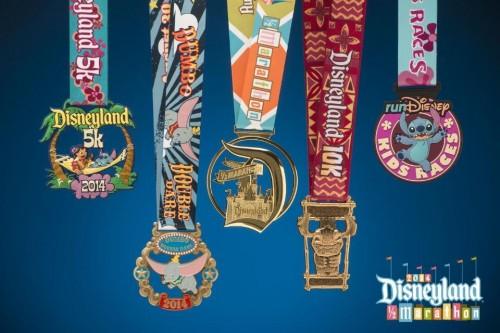 2014-Disneyland-Half-Medals