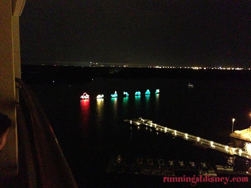 Bay Lake Tower Running At Disney