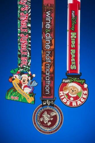 2014-Wine-Dine-Half-Marathon-Medals