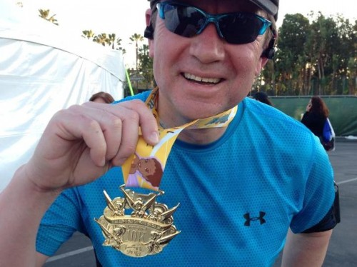 "The ""Inaugural"" Tinker Bell 10k medal"
