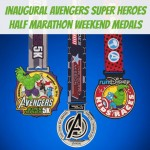 Inaugural Avengers Super Heroes Half Marathon Weekend Medals Revealed!