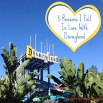 5 Reasons I Fell In Love with Disneyland