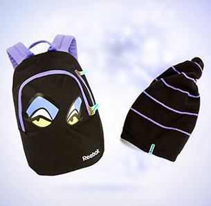 Reebok-Maleficent-Backpack-Beanie