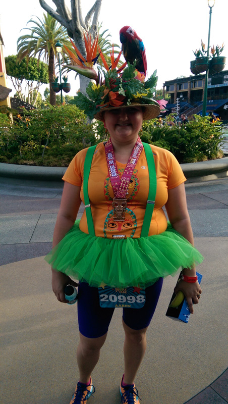 Chearing At The 2014 Disneyland 10k Running At Disney
