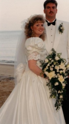 Transformation-Tuesday-Robin-Crisp-Wedding-1992