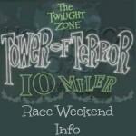 2014 Twilight Zone Tower of Terror 10-Miler Race Weekend Info