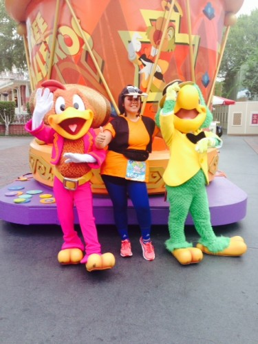 birds and me-2014-Disneyland-Half-Marathon