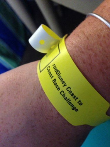 The best bracelet I have ever been given! The Coast to Coast wristband!