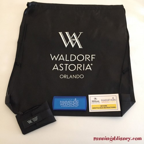 Waldorf-Astoria-Orlando-Marathon-Weekends-Gift-Bag