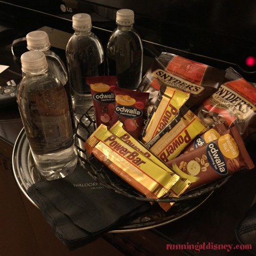 Waldorf-Astoria-Orlando-Marathon-Weekends-Gift-Basket