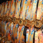 Handing Out Medals at the Walt Disney World Marathon
