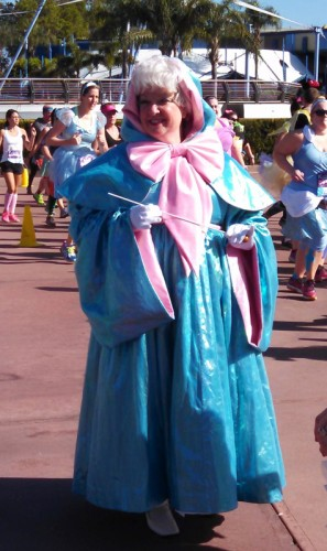 The Fairy Godmother helping us out