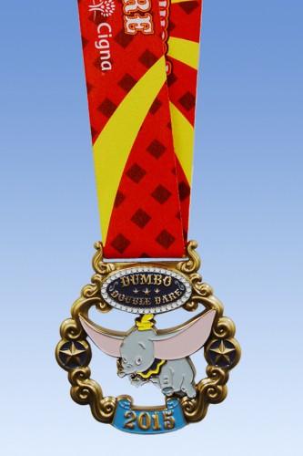 2015-Disneyland-Half-Marathon-Dumbo-Medal