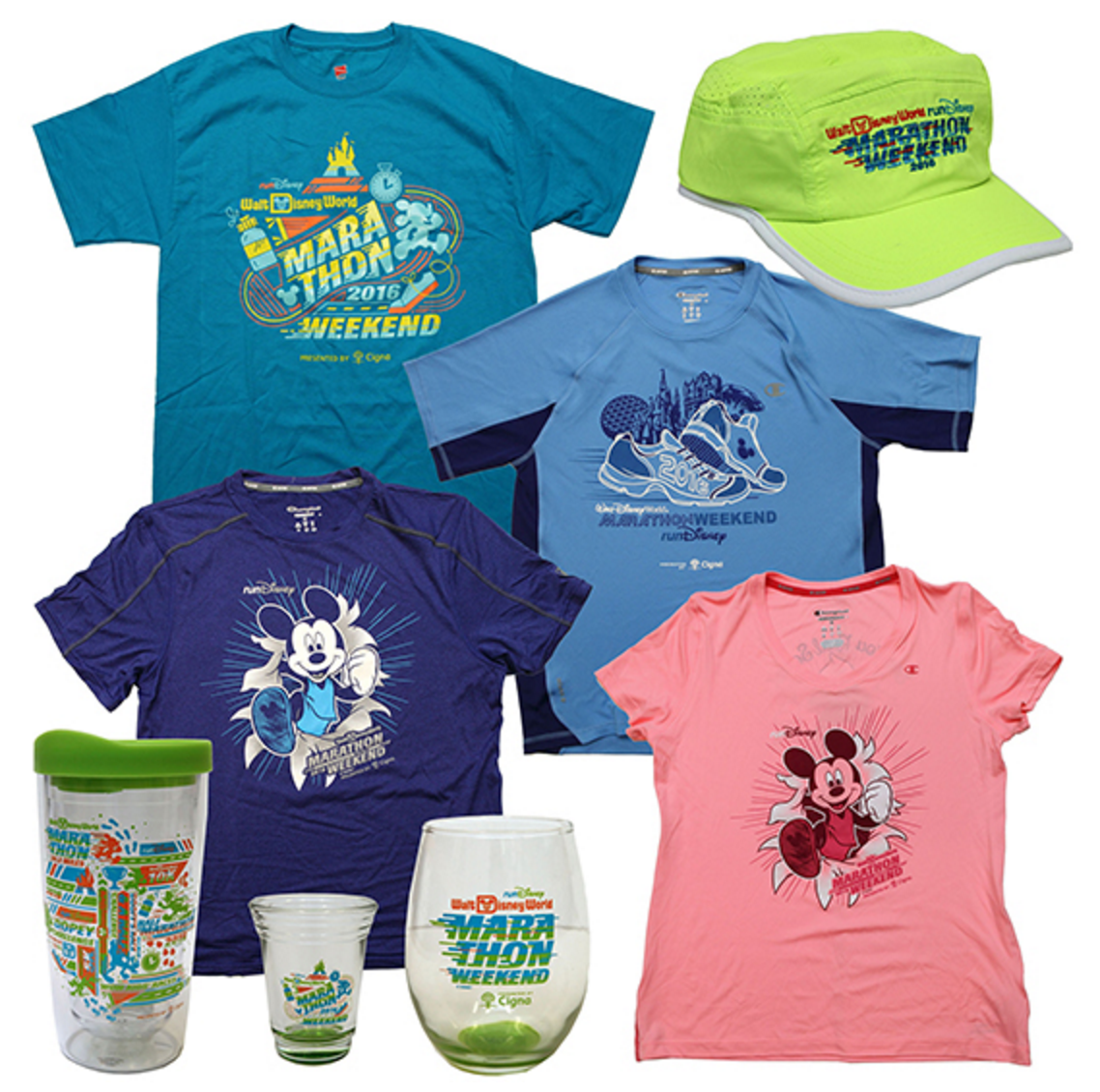 2016 Walt Disney World Marathon Weekend Merchandise ...