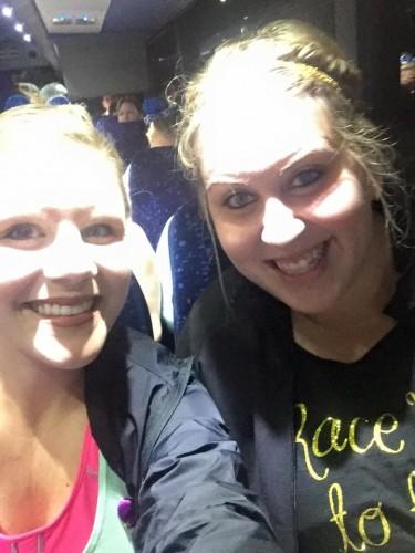 2016-Princess-Half-Bus Selfie