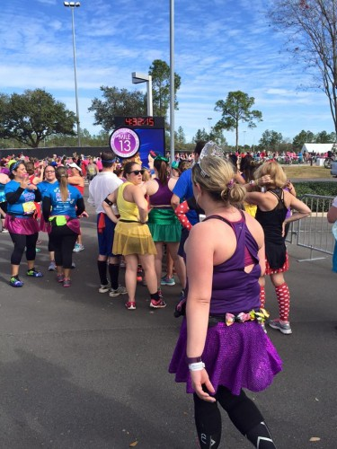 2016-Princess-Half-Mile 13 Marker