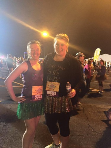 2016-Princess-Half-Pre-Race with Friend