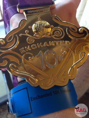 Enchanted 10K Wristband