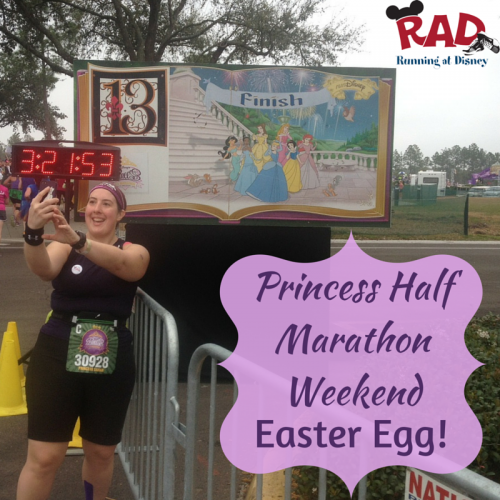 Princess Half Marathon Weekend Easter Egg