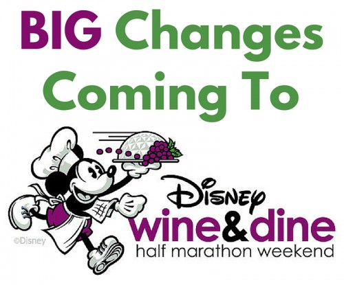Changes to Wine & Dine